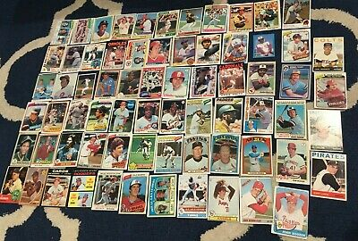 Vintage Baseball Card Lot LOADED Hall of Famer & Stars YAZ BENCH MORGAN STARGELL