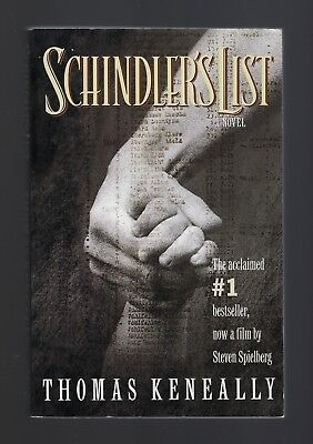 SCHINDLER'S LIST by Thomas Keneally (1993 Trade Paperback)