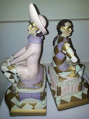 Classic Ballet Lovers ceramic  Bookends