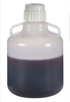Thermo Scientific Nalgene 2250-0020 FDA-Compliant PP Carboy with Handles, 10 L