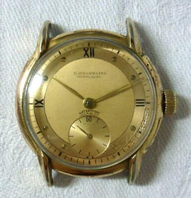 Vintage Art Deco T. Kirchhofer Wrist Watch