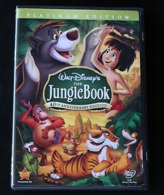 The Jungle Book DVD 2007 2-Disc Set 40th Anniversary Platinum Edition Disney