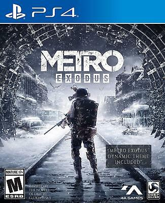 Metro Exodus: Day One Edition (Playstation 4 PS4 NEW Physical USA Game PRESALE 1