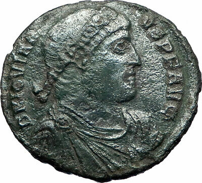 JOVIAN Rare Large AE1 363AD Constantinople Authentic Ancient Roman Coin i73517