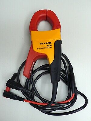 Fluke i400 AC Current Amp Clamp Probe Free Shipping