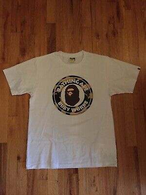 0a9dc9946 A BATHING APE Bape Camo Busy Works Tee M Medium Authentic - $50.00 ...
