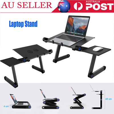 Laptop Stand Desk Lap Tray Computer Riser Portable Foldable Adjustable Cooling