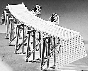 Campbell Scale Models Ho Scale Trestle Curved | Bn | 303