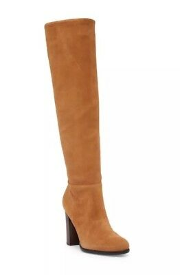 bf472d97b Sam Edelman Womens Size 11 Tan Suede Victoria Slouch Boot NEW Tall Knee High