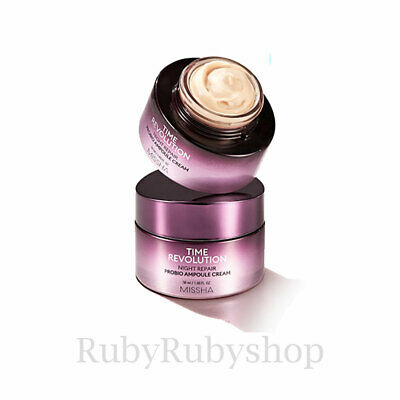 [MISSHA] Time Revolution Night Repair Probio Ampoule Cream [RUBYRUBYSTORE]