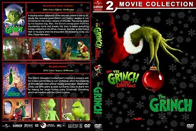 The Grinch (DVD, 2018) ***See Details***