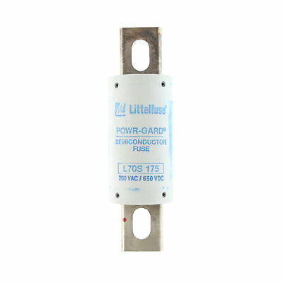 Littelfuse L70S-175 Powr-Gard High-Speed Fuse, 700Vac, 650Vdc, 175A