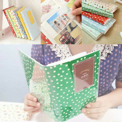 Album Box Book Case Storage For Fujifilm Fuji Polaroid Mini Film Instax 84 Photo
