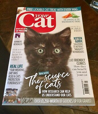 Your Cat Magazine January 2019 Issue.