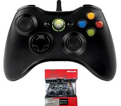 Joypad Gaming Joystick Cavo Usb Per Pc Windows Controller Xbox 360 Con Filo