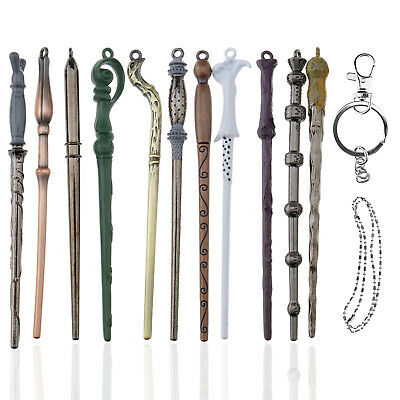11 pcs Harry Potter Fan Hermione Dumbledore Voldemort Magic Wand Collect Cosplay