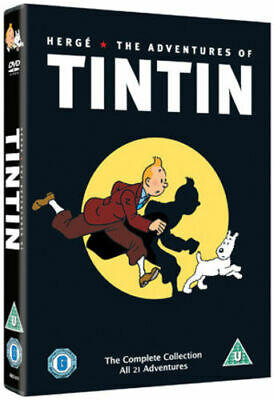 The Adventures of Tintin: Complete Collection (DVD 5 DISC BOX SET, 2011) *NEW*