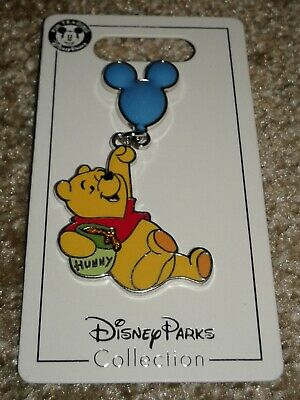 New Disney Parks Winnie the Pooh w/Balloon Open Edition Pin