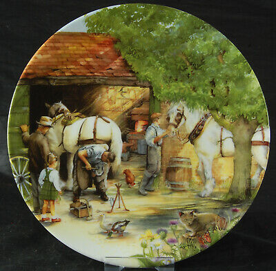 Royal Doulton Collector's Plate - Old Country Crafts Series - The Blacksmith
