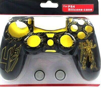 Silicon Case Controller Ps4 Cover Joystick Protezione Joypad Playstation 4 Giall