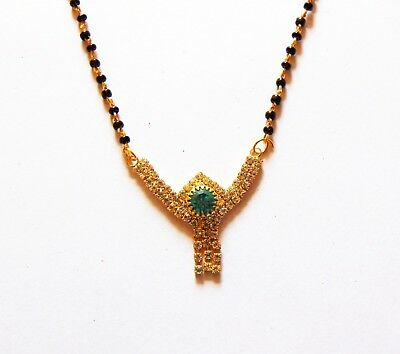 Ethnic Indian Fashion 3 Line Mangalsutra for Women FTMS413