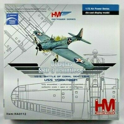1/72 Hobby Master HA0112 - Douglas SBD-3 Dauntless - Battle of the Coral Sea