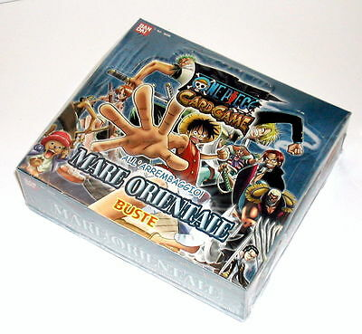 Box 30 Buste One Piece Card Game Mare Orientale Bandai