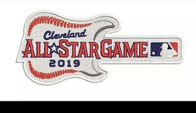 2019 ALL STAR GAME PATCH Cleveland MLB Baseball Embroidered Guitar Iron Sew On