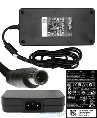 New For Dell 100-240V Notebook Genuine 240W Laptop Adapter Charger Pa-9E