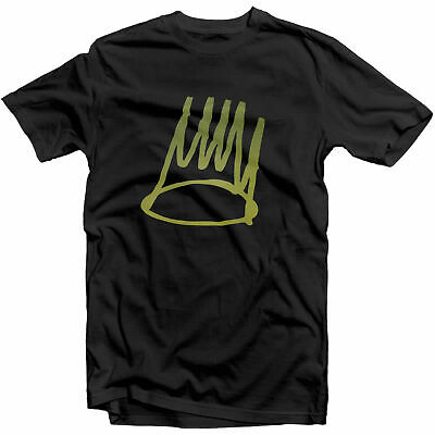 6264d92d J Cole Dreamville Born Sinner Crown T Shirt Tee KOD Tour 4 your Eyez Only