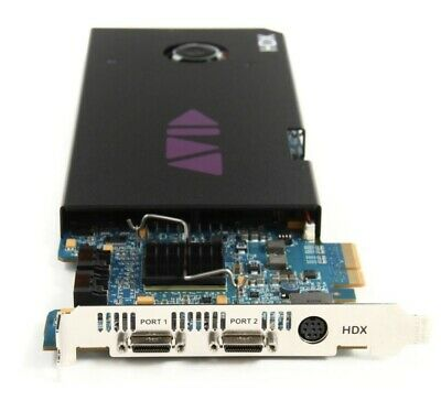 Avid Pro Tools HDX Core Card No Software Just The Card
