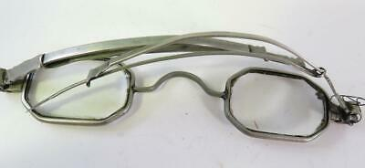 Early Victorian Steel Spectacles Need New Screw Original Lenses