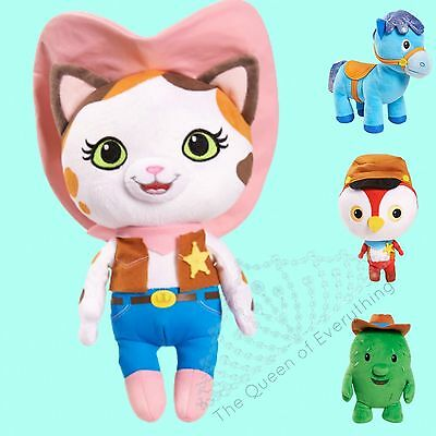"""Sheriff Callie's Lejano Oeste Callie Sparky Toby Peck Just Play 8"""" Puf Peluche"""