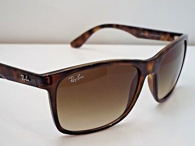 8083f0f32c4f3 Authentic Ray-Ban RB 4232 710 13 Tortoise Brown Gradient Square Sunglasses   185