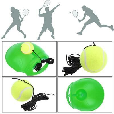 Tennis Training Exercise Ball Sport Rebound Practice Trainer Baseboard Device