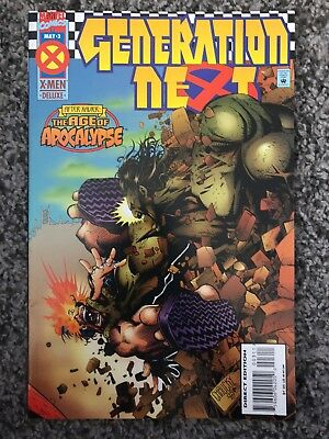 Generation Next #3 (May 1995, Marvel) AGE OF APOCALYPSE AFTER XAVIER XMEN