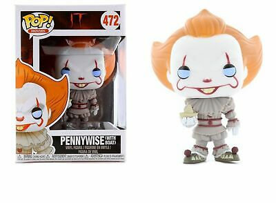 Funko Pop IT - Pennywise (With Boat) 472  Retired.  Never Opened.