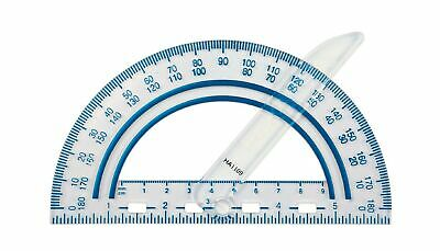 Fiskars 12-95400J Plastic Swing Arm Protractor, Color Received May Vary 1-Pack