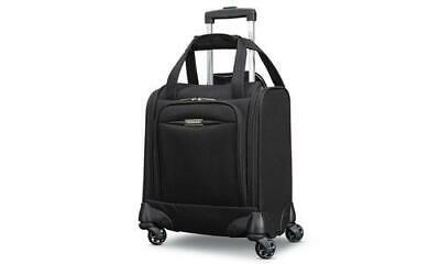 """American Tourister 16"""" Spinner Tote Underseat Carry-On Luggage Black"""