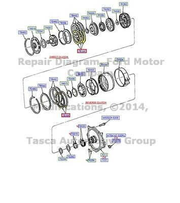 New Genuine Ford Oem Auto Transmission Clutch Plate 04 11 Focus