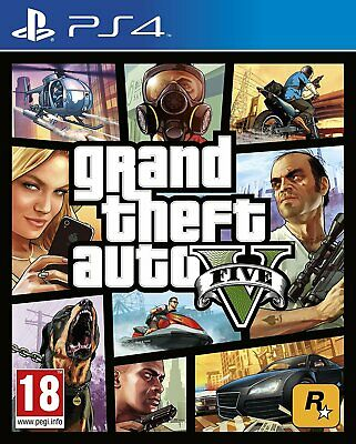 Ps4 Playstation 4 Grand Theft Auto V Gta V 5 Dvd Nuovo Originale Italia