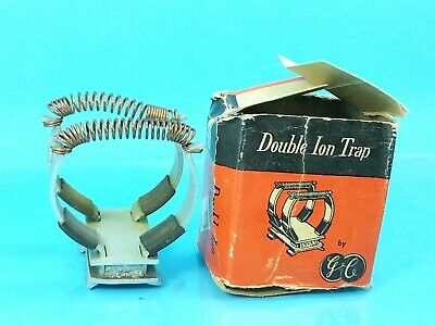 NOS 1940s GE Double Ion Trap f/ Old Ham Radio Tube TV Television CRT Tube Neck