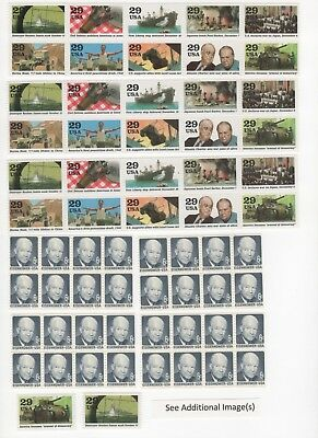 35 Cent Postage Stamp Combos Enough to Mail 68 Postcards - Face Value $23.80