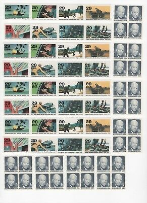 35 Cent Postage Stamp Combos Enough to Mail 32 Postcards - Face Value $11.20