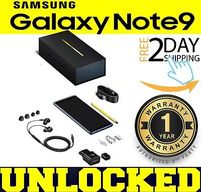 SAMSUNG GALAXY NOTE 9 N960U1 (FACTORY UNLOCKED) Verizon 128GB ║ 512GB *NEW OTHER