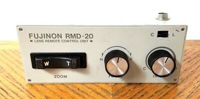 FUJINON RMD-20 TV Lens Remote Control Unit  - Preowned RCU Only
