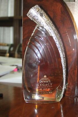 Dewars Legacy 1893  Decanter in original box with the good stuff inside