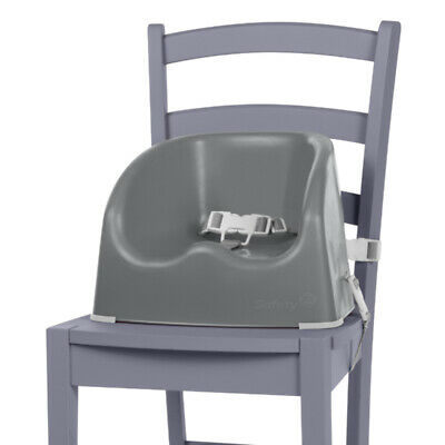 Baby Booster Seat Toddler Highchair Home Portable Feeding Safety 1st Grey