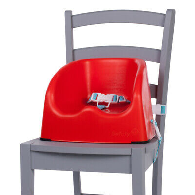 Baby Booster Seat Toddler Highchair Home Portable Feeding Safety 1st Red