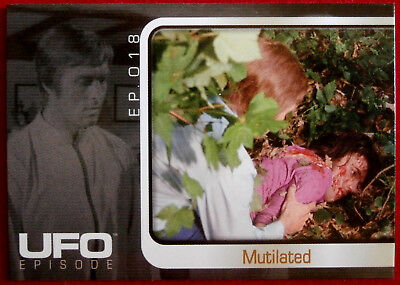 UFO - INDIVIDUAL Base Card #074 - The Sound Of Silence - Mutilated - Cards  Inc